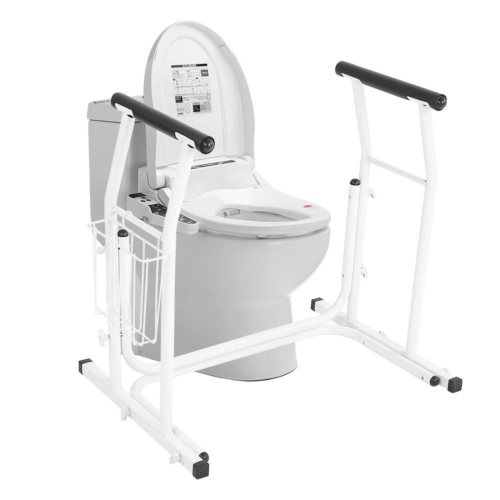 HERCHR Toilet Standing Aid, Portable Toilet Safety ...