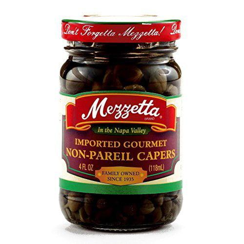 Mezzetta Capers 4 oz. 4 oz each (5 Items Per Order) by
