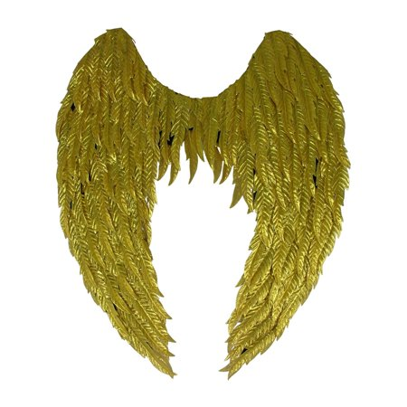 Gold Angel Wings Halloween Costume Accessory - Angel Wings Halloween