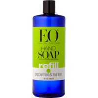 EO Liquid Hand Soap, Peppermint & Tea Tree, 32 Oz