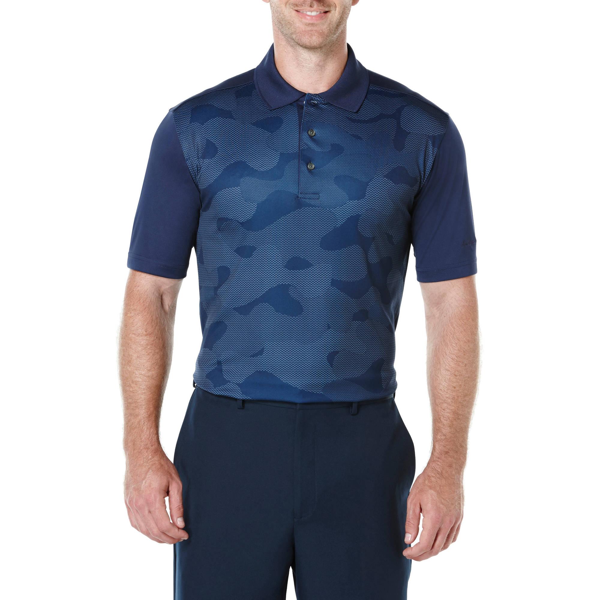 Ben Hogan Performance Big Men's Camouflage Print Polo Shirt