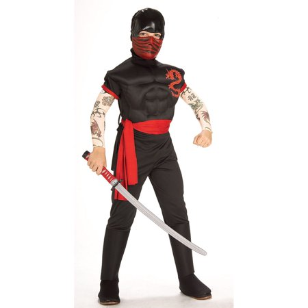 Child Ninja Warrior Costume Rubies 882797