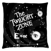 The Twilight Zone Another Dimension Throw Pillow White 20X20