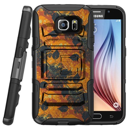 Samsung Galaxy S7 G930 Miniturtle® Clip Armor Dual Layer Case Rugged Exterior with Built in Kickstand + Holster - Fading (Animal Crossing New Leaf Christmas Gift List)