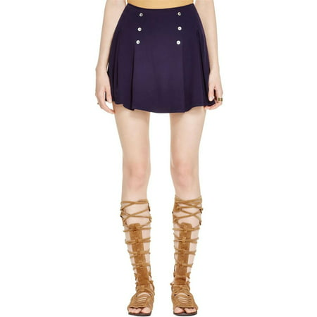 Free People Navy Lovers Lane Mini Skirt 2](Halloween Lovers Lane)