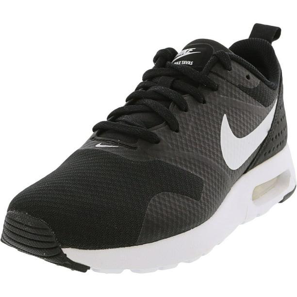 Nike Women's Air Max Tavas Black / White Ankle-High Running - 7.5M