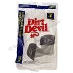 3 Royal Dirt Devil Canister Type F Allergy Vacuum Bags, Can Vac, Power Pak Vacuum Cleaners, 3-200147-001, 3200147001...