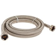 Certified Appliance WM96SS Braided Washing Machine Connector, Stainless Steel (3/4'FGH X 3/4'FGH, 8 Ft)