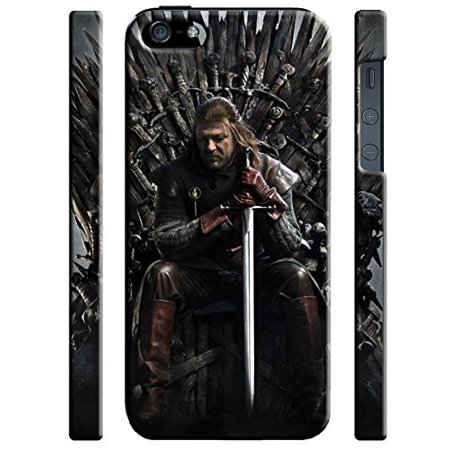 Ganma Game Of Thrones Iron Throne Ned Stark Case For Iphone 5 5s Hard Case Cover (Ned Stark Costume)