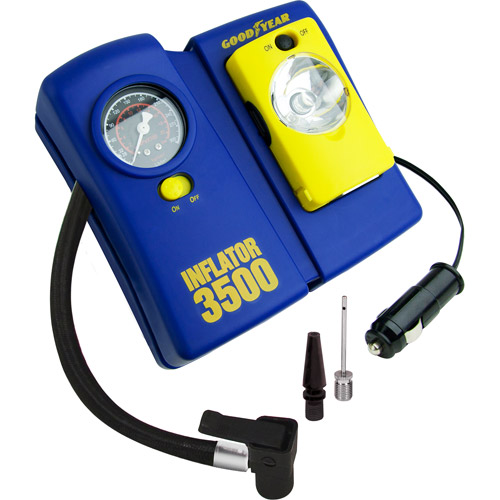 Goodyear 12 Volt Inflator i3500 w/ Removable Light