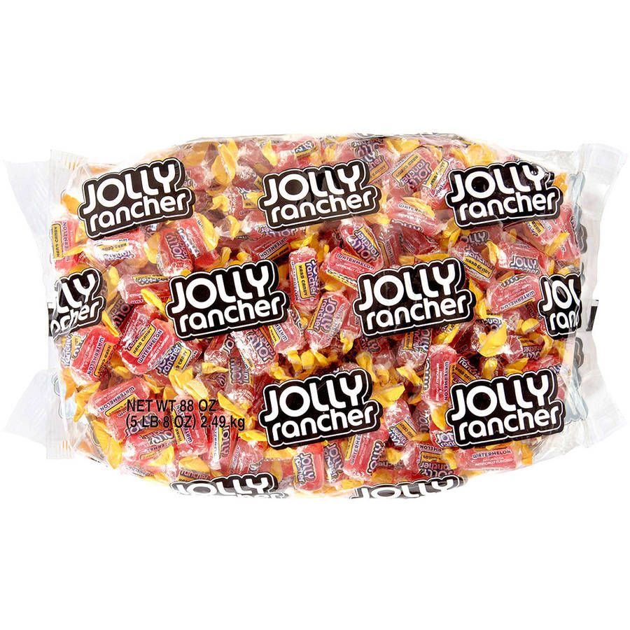 Jolly Rancher Watermelon Flavored Hard Candy, 5.5 lbs