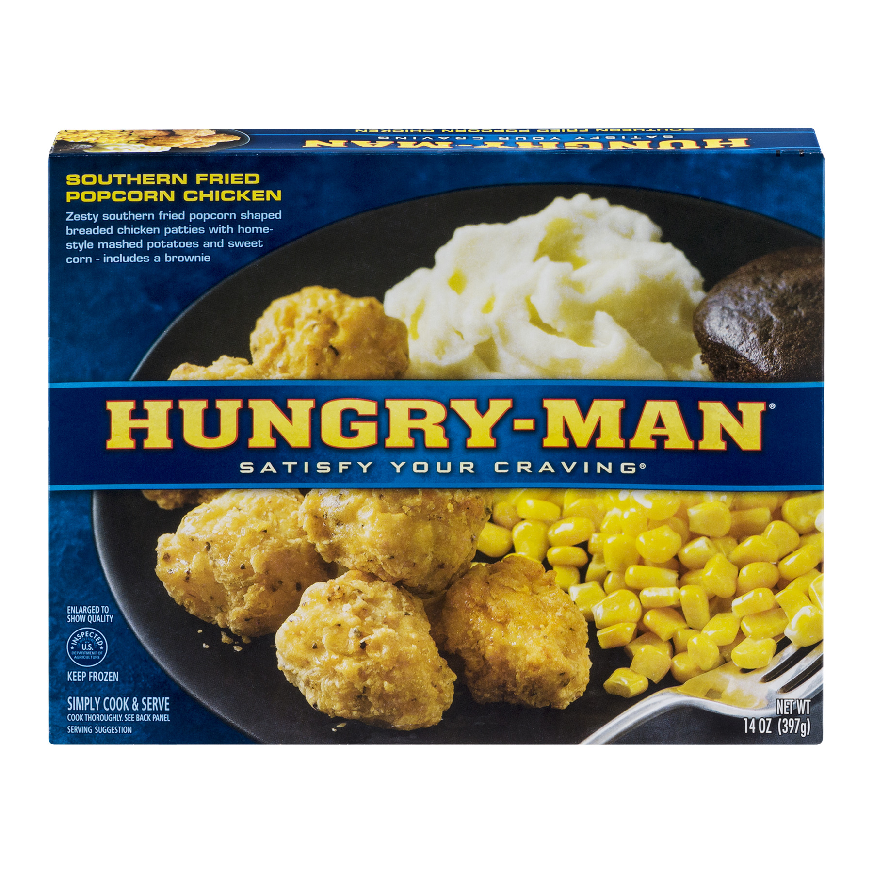 Hungry-Man® Southern Fried Popcorn Chicken 14 oz. Box