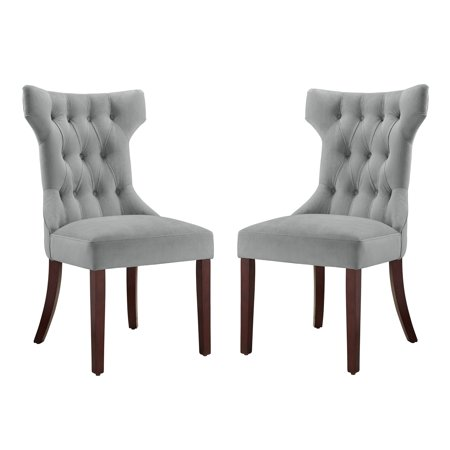 Dorel Living Clairborne Tufted Upholestered Dining Chair