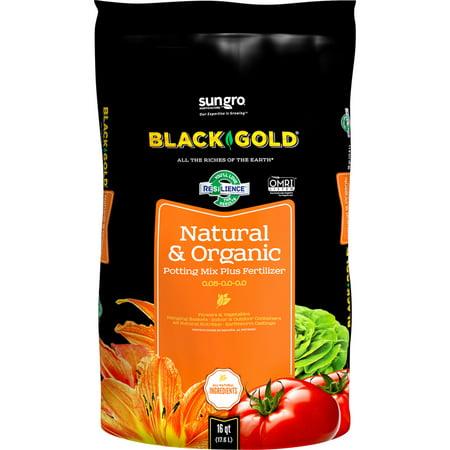 [16 Quart] Black Gold Organic All Purpose Potting Soil 1402040