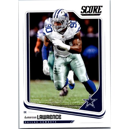 2018 Score #93 DeMarcus Lawrence Dallas Cowboys Football (Dallas Cowboys Credit Card)