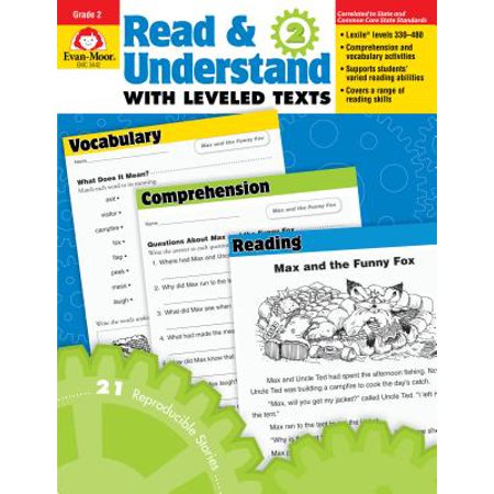 Read & Understand with Leveled Texts: R&u, Stories & Activities Grade 2 (Paperback)