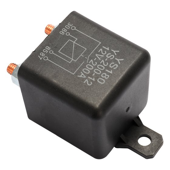 YS180 200A 12V Car Relay Small Size Lightweight Portable Vehicle Electronic  Control Element with 7 Silver Contactors