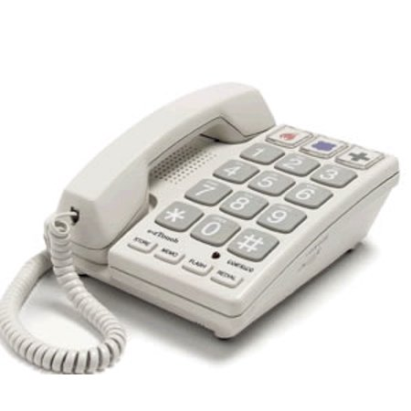 Cortelco Dignity ITT-2400 Big Button Corded Phone