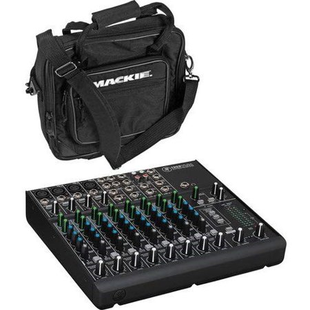 Mackie 1202VLZ4 12-Channel Compact Mixer with 1202VLZ Bag Mackie Powered Mixer Bag
