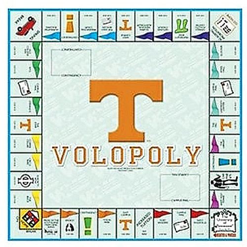 University of Tennessee - Volopoly Board Game
