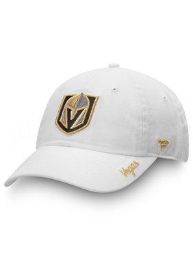 Vegas Golden Knights Fanatics Branded Women's Logo Fundamental Adjustable Hat - White - OSFA