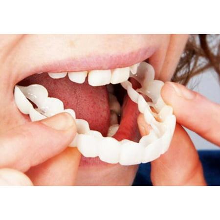 Comfort Fit Flex Cosmetic Teeth Denture Teeth Dentistry Snap On Upper Veneer Fits Most Comfortable Denture (Fitting Beads For Cosmetic Teeth)