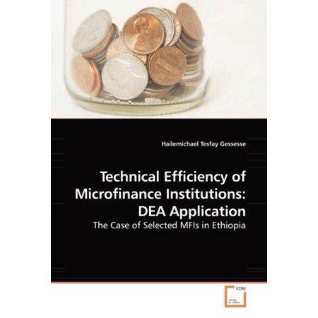 Technical Efficiency of Microfinance Institutions - image 1 de 1