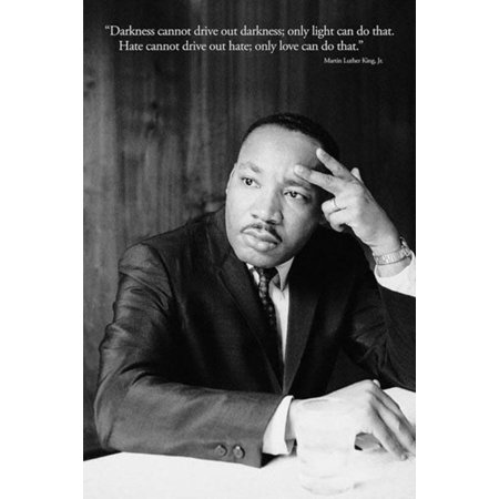 Martin Luther King Mlk Love Quote Poster   24X36
