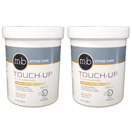 MB Stone Care MB11 Marble Polishing Powder - 8 ounce Pack of 2