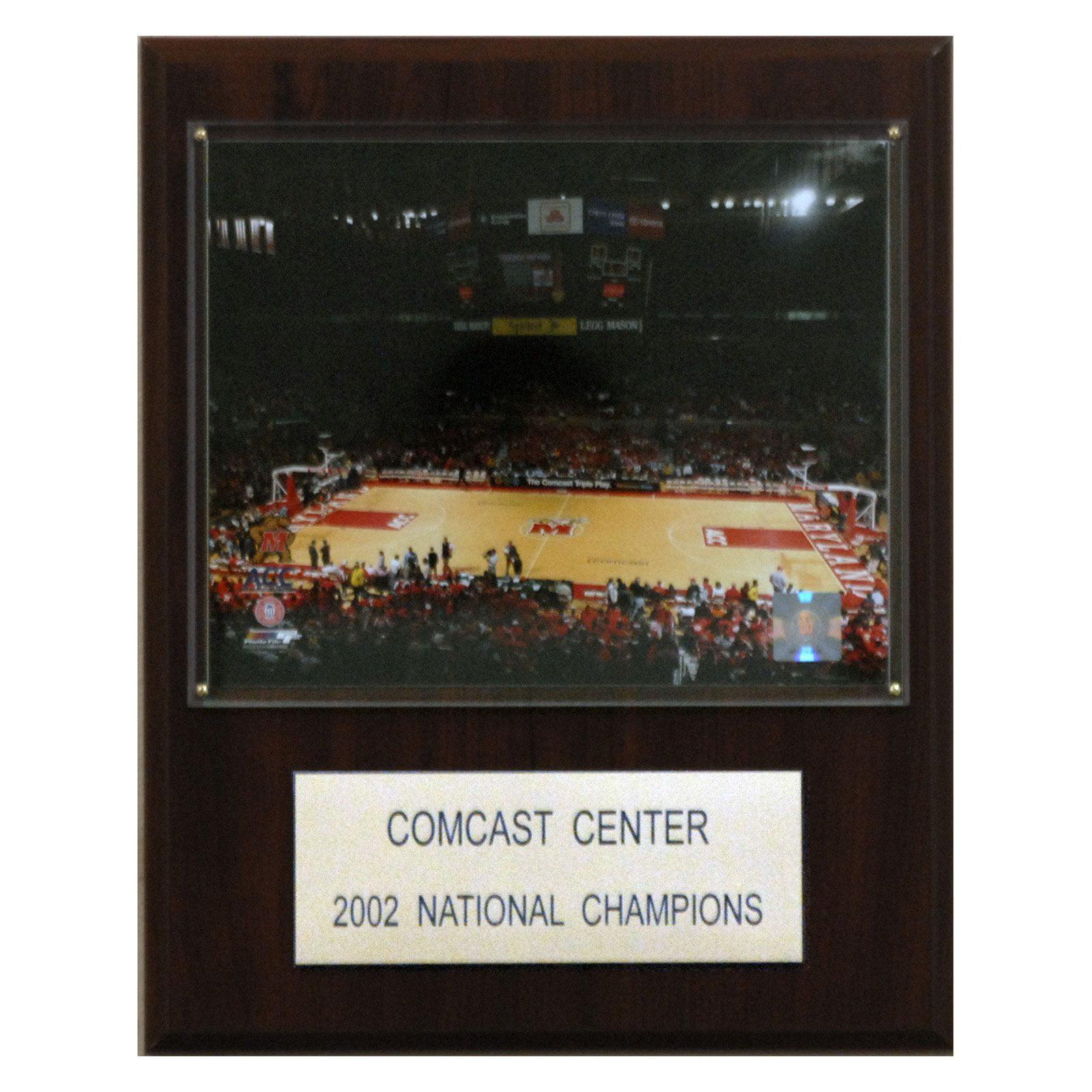 C&I Collectables NCAA Basketball 12x15 Comcast Center Stadium Plaque