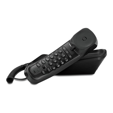 AT&T TR1909 Trimline Corded Phone with Caller ID, Black