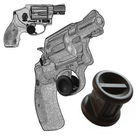 Two Micro Holster Trigger Stops For Smith   Wesson Revolver J Frame All Cal Black S16 By Garrison Grip