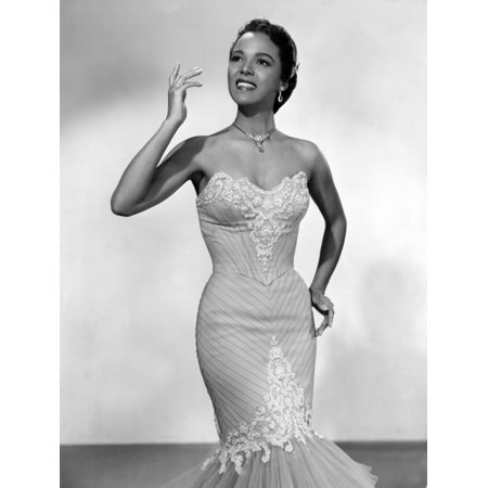 Dorothy Dandridge Ca 1950S Photo Print