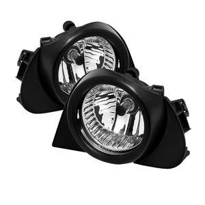 Spyder Automotive 5038593 Driving/ Fog Light  OE Size/ Shape; Clear Lens; Black Plastic Housing; Direct Bolt On Replacement Mount; With Two Lights And Switch  - image 1 of 1