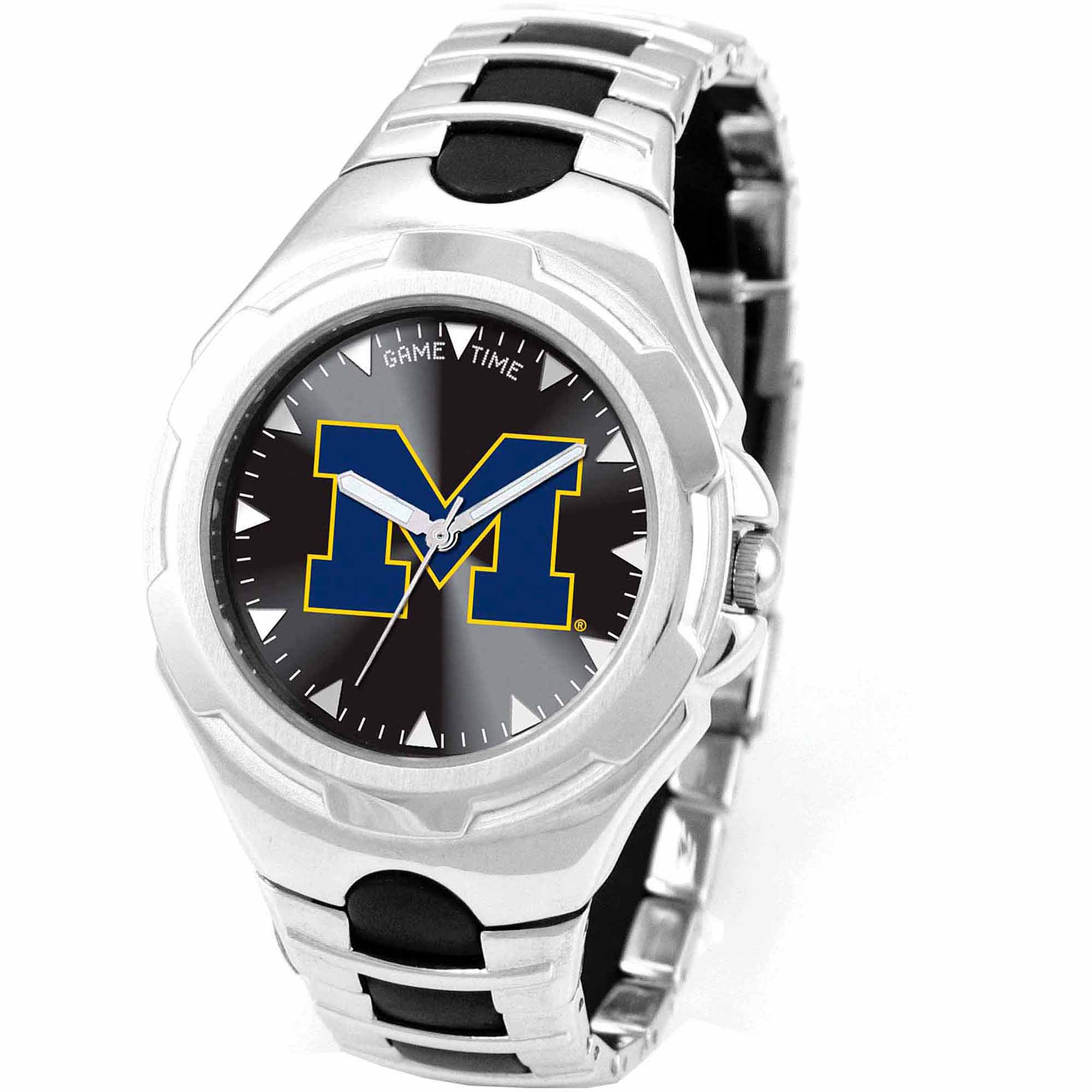 Game Time  NCAA Men's University of Michigan Wolverines Victory Series Watch