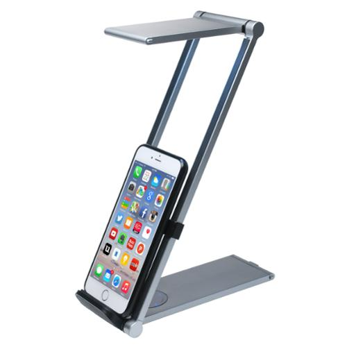 CTA PAD-FLD Foldable Led Desk Lamp Stnd Ipad Iphone
