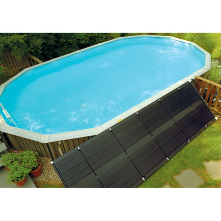 SunHeater Universal (2) 2' x 20' Solar Heating Panel for In Ground or Above Ground Pool 80 Sq