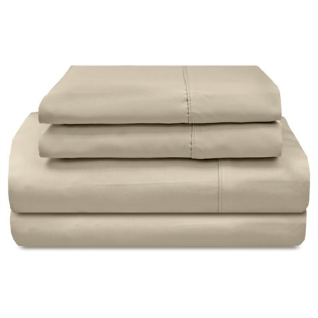 800 Sateen Egyptian Cotton - 800 Thread Count Solid Sateen Egyptian Cotton Sheet Set by Veratex
