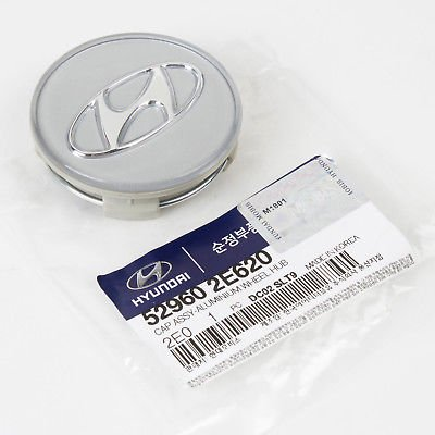 Genuine OEm Hyundai Wheel Center Cap for 2005-2010 Tucson 52960-2E620 QTY=1PC
