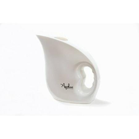 . Aquabean White Plastic Lota   Portable bidet