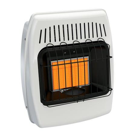 Dyna-Glo 12,000 BTU Liquid Propane Infrared Vent Free Wall Heater - Heater Vent Covers