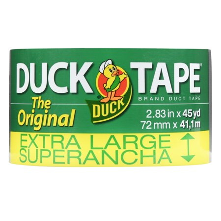 Duck Brand 2.83u0022x45 Yd. The Original Extra Wide Duct Tape, Silver
