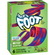 Fruit by the Foot Fruit Snacks, Berry Tie-Dye, 4.5 oz