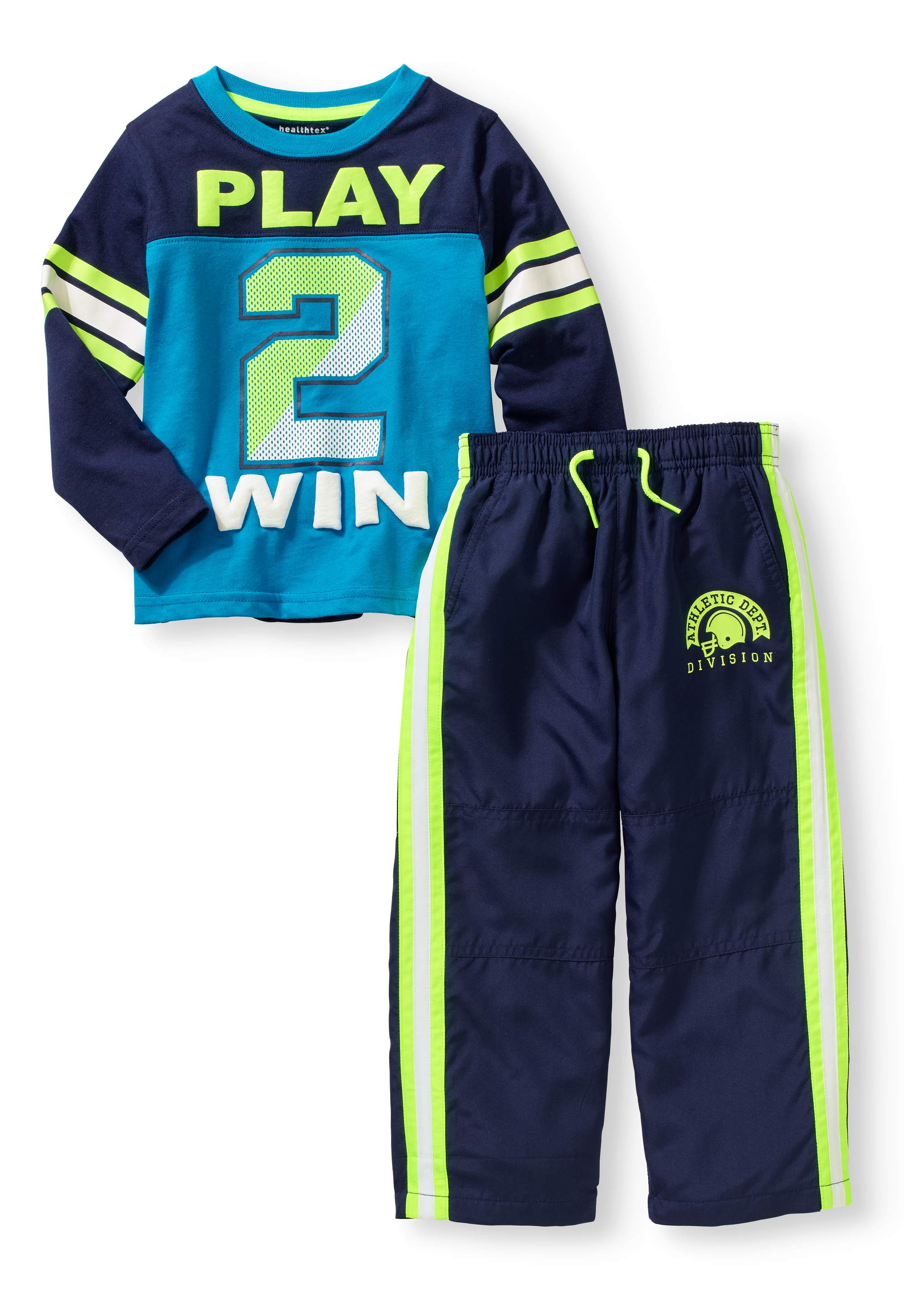Baby Toddler Boy Graphic T-Shirt And Pant Athleisure 2pc Set