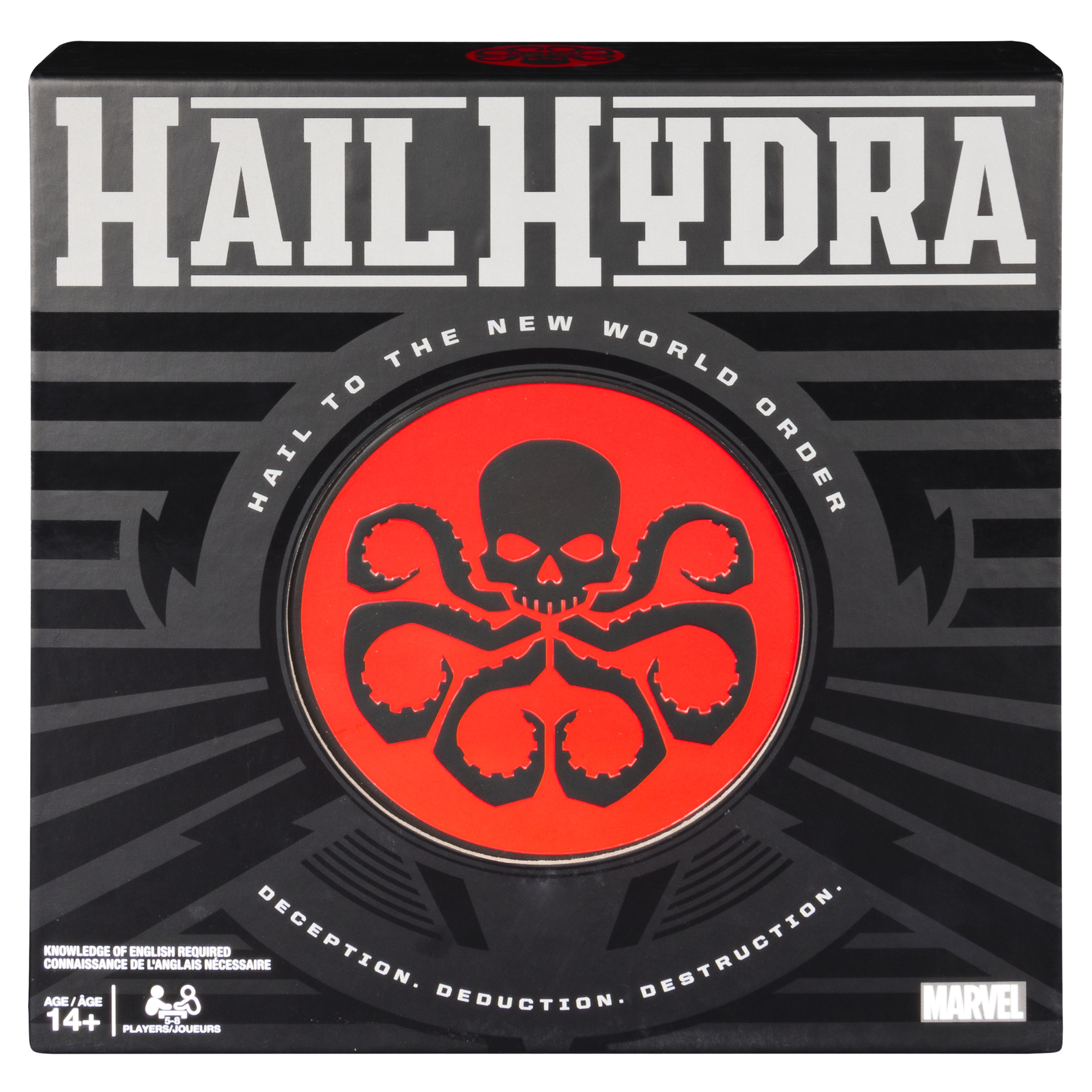 Hail Hydra, MARVEL Hero Board Game for Teens and Adults Aged 14 and Up by Spin Master Ltd