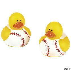 Baseball Party Favors (Fun Express Baseball Rubber Duck Party Favors Set (24)