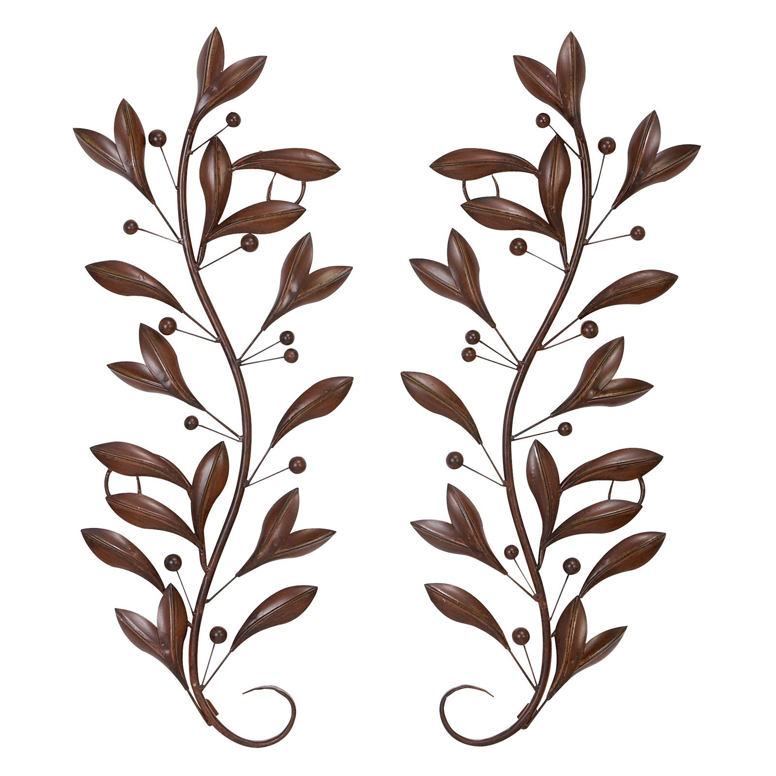 Twig Wall Decor metal wall decor pair for wall decor upgrade option - walmart