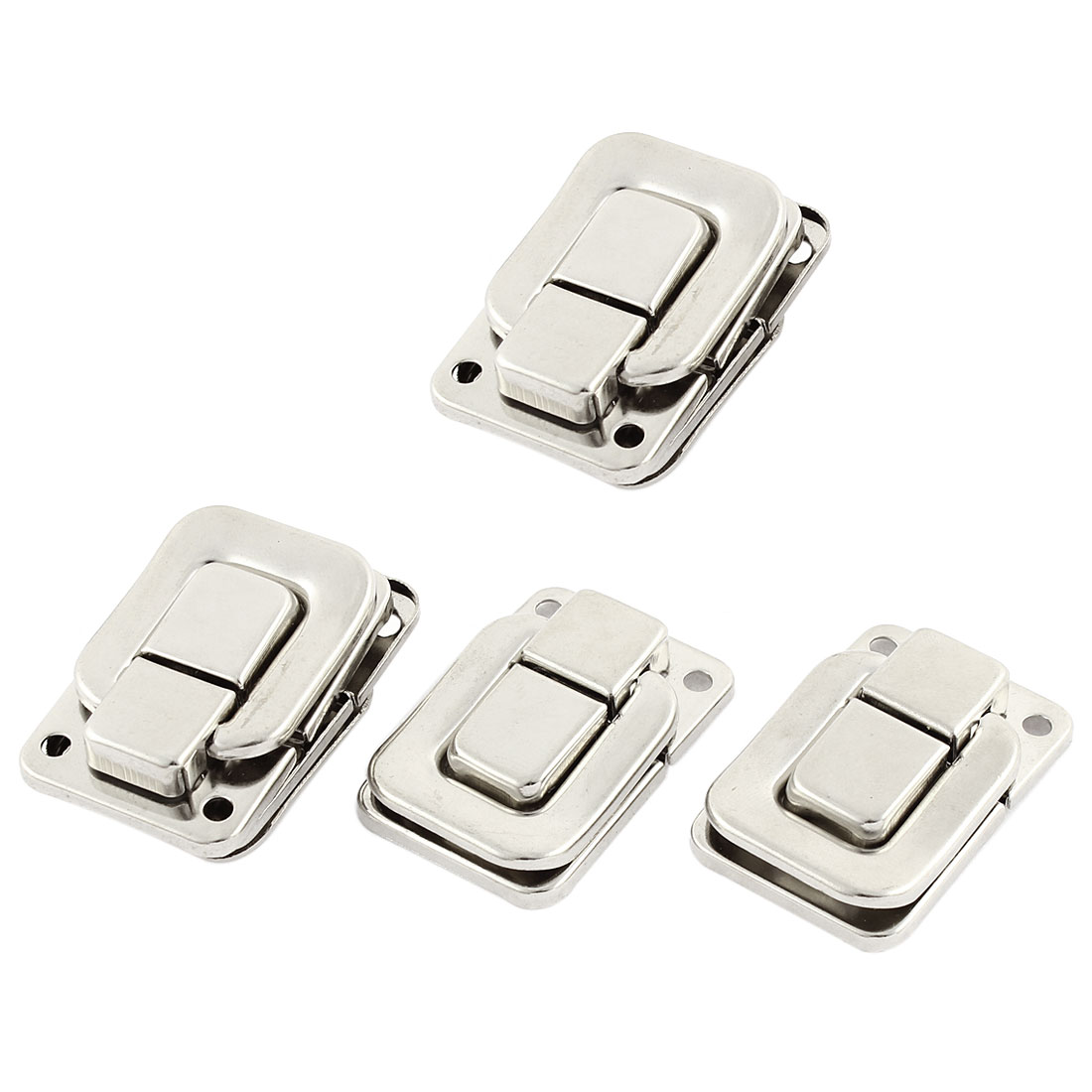 Stainless Steel Spring Draw Toggle Latch for Chest Box Case Suitcase 4Pcs