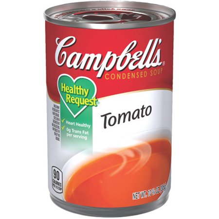 Campbell's Condensed Healthy Request Tomato Soup, 10.75 oz.