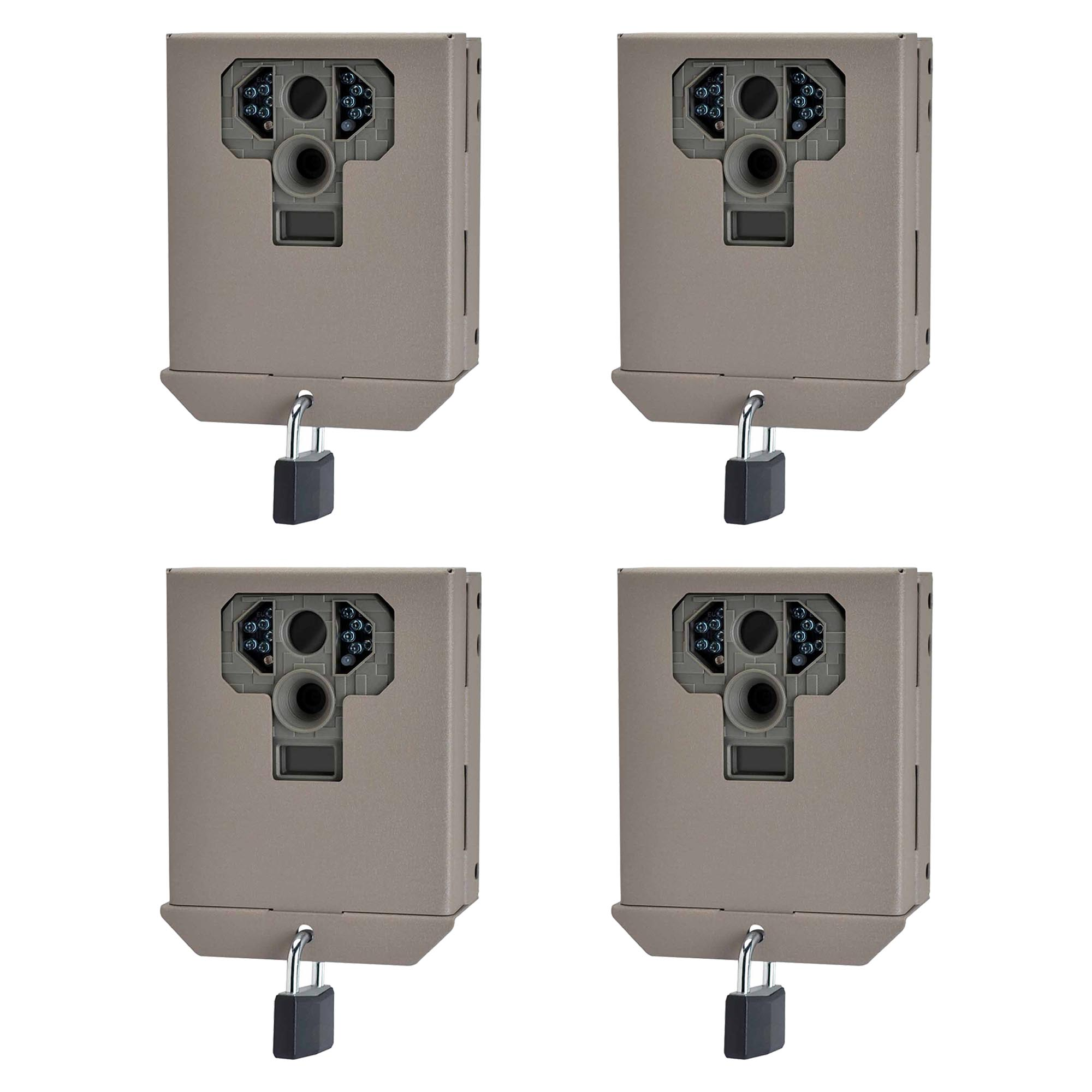 Stealth Cam P Series Game Camera Security & Bear-Proof Box, 4 Pack | STC-BBP12 by Stealth Cam